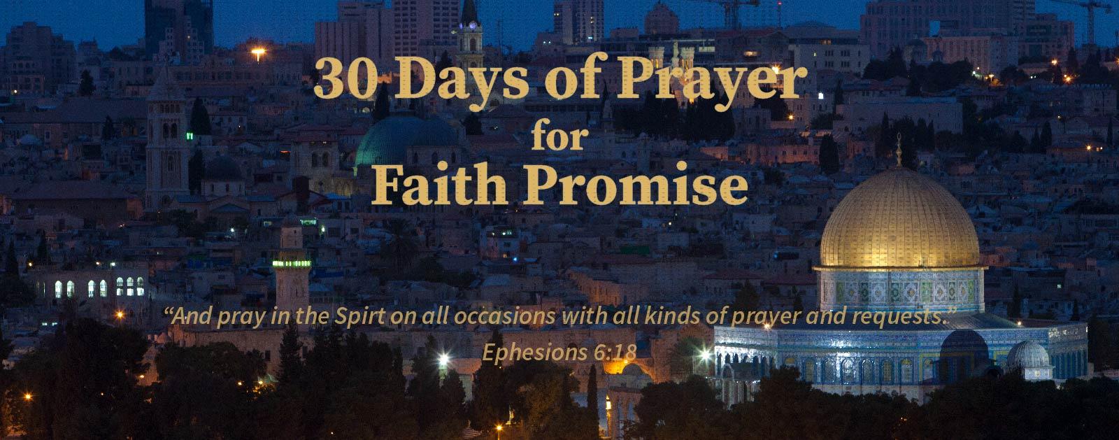 Faith Promise Banner 2016